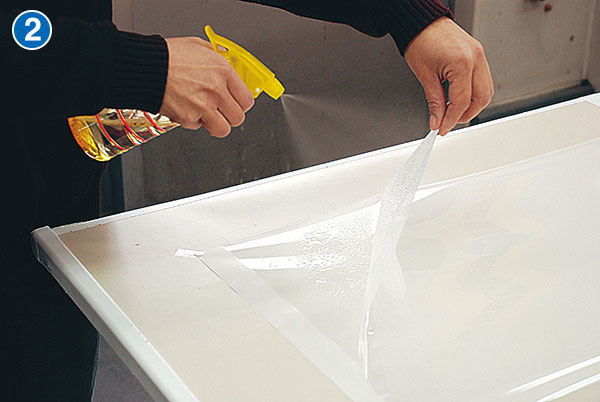 水張り貼り方説明2