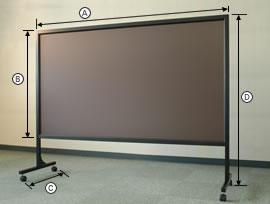 ブラックスクリーン73型斜面画