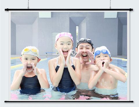リアスクリーン60インチ(4:3)
