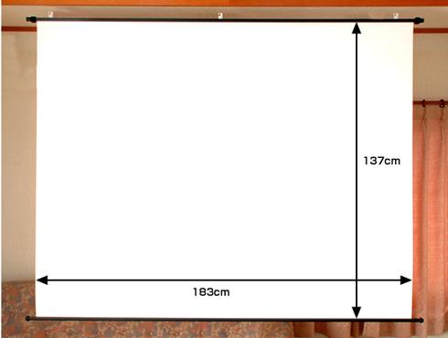 マイクロビーズ90インチサイズ表