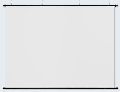 リアスクリーン130インチ(4:3)